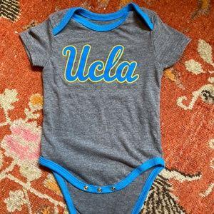 UCLA baby onesie